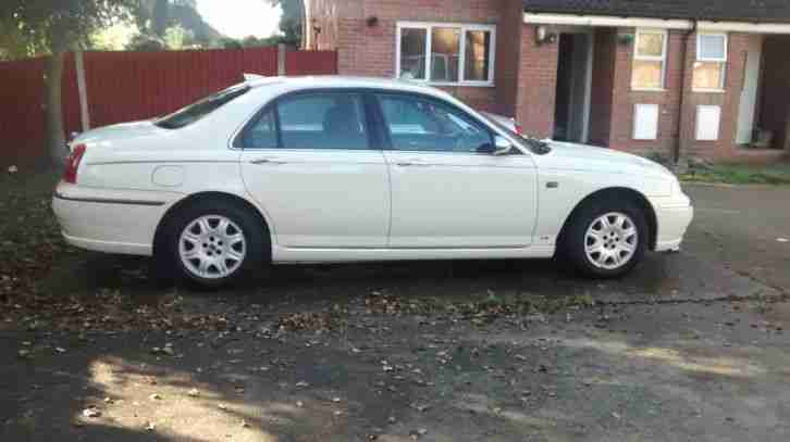 2001 rover 75 classic cdt se white car for sale. Black Bedroom Furniture Sets. Home Design Ideas