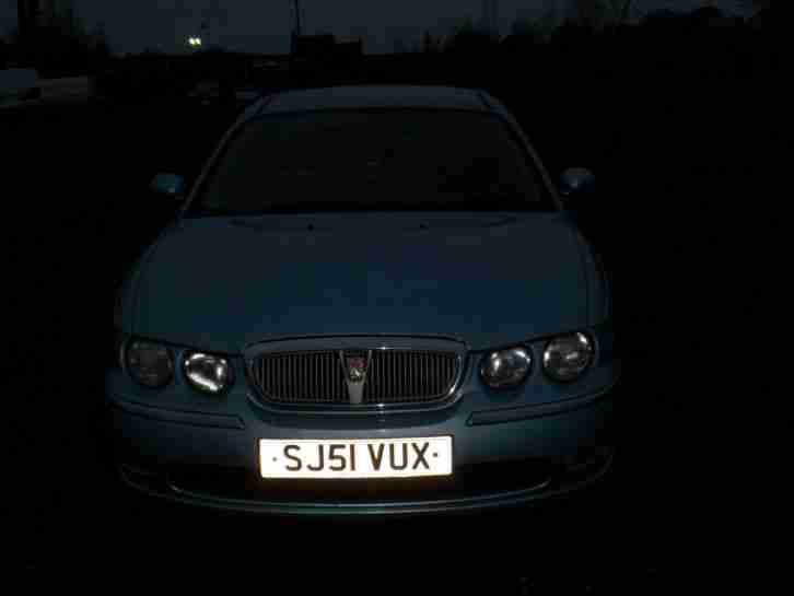 2001 ROVER 75 CLUB BLUE[SPARES OR REPAIR]