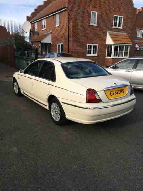 2001 ROVER 75 CLUB CDT AUTO WHITE