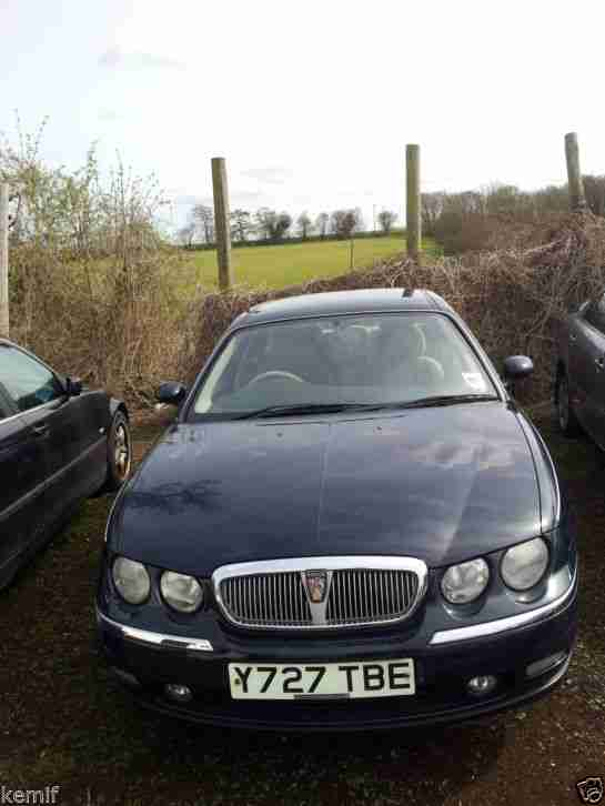 2001 ROVER 75 CLUB SE IN MINT CONDITION.