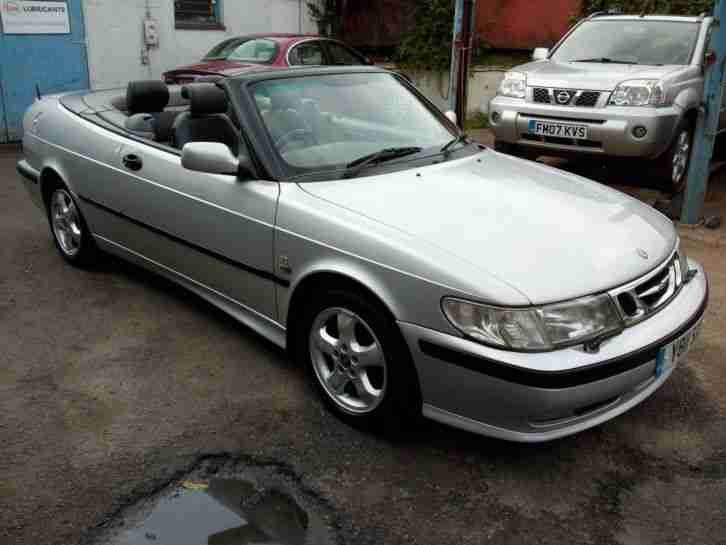 2001 9 3 SE CONVERTIBLE 2.0 TURBO