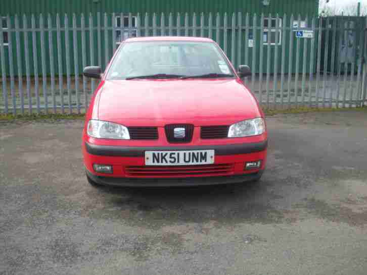 seat 2001 ibiza chill red car for sale. Black Bedroom Furniture Sets. Home Design Ideas