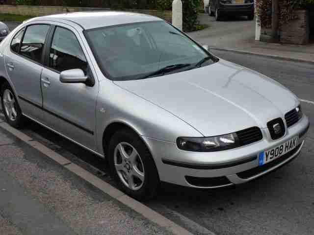 seat 2001 leon s 1 4 16v grey car for sale. Black Bedroom Furniture Sets. Home Design Ideas
