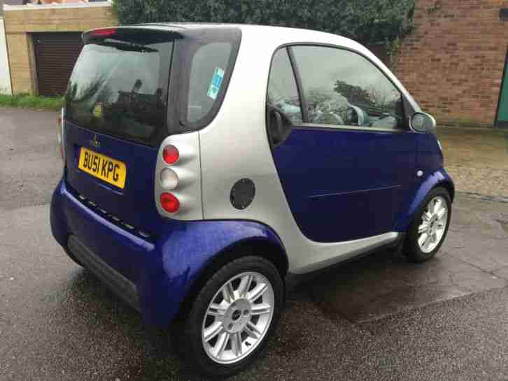 2001 SMART CITY PASSION 50 AUTO SILVER, 70,000 miles, FSH, New Mot