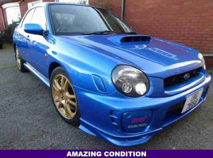 2001 IMPREZA AN EXCEPTIONAL CONDITION