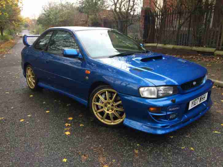 Subaru 2001 Impreza P1 Blue 1016 1000 Limited Edition Car For Sale