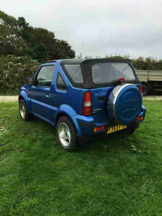 suzuki 2001 jimny jlx blue convertible car for sale. Black Bedroom Furniture Sets. Home Design Ideas