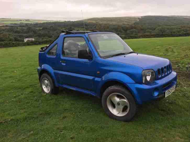 suzuki 2001 jimny jlx blue convertible car for sale. Black Bedroom Furniture Sets. Home Design Ideas