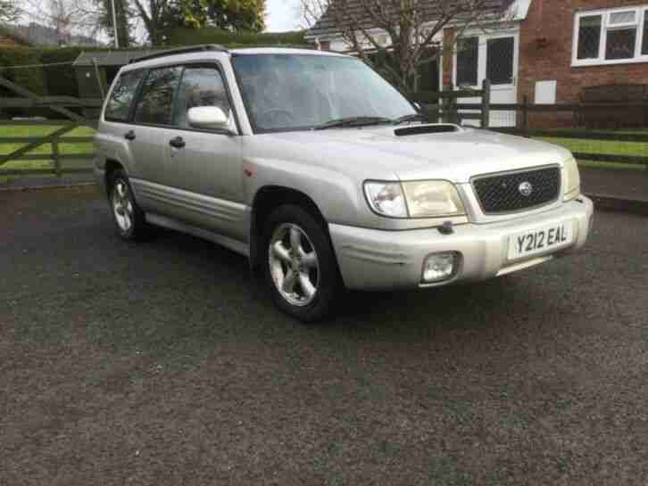 2001 Forester turbo