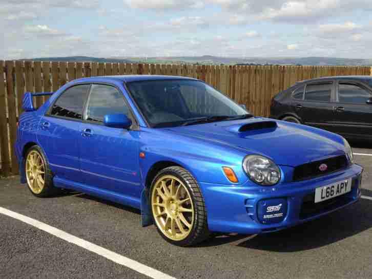 Subaru 2001 Impreza Wrx Sti Saloon Car For Sale