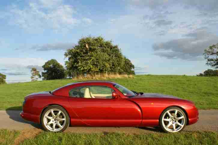 2001 TVR Cerbera Speed Six. Immaculate throughout. Powers engine rebuild. 20k