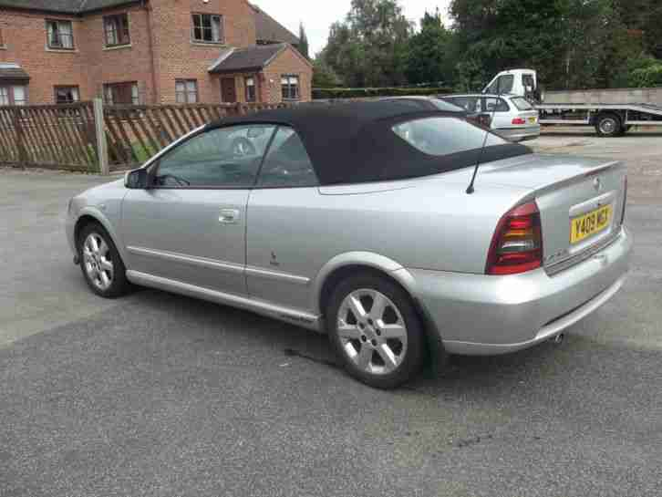 vauxhall 2001 astra coupe convertible silver 1796cc car for sale Vauxhall VXR8 Vauxhall Corsa