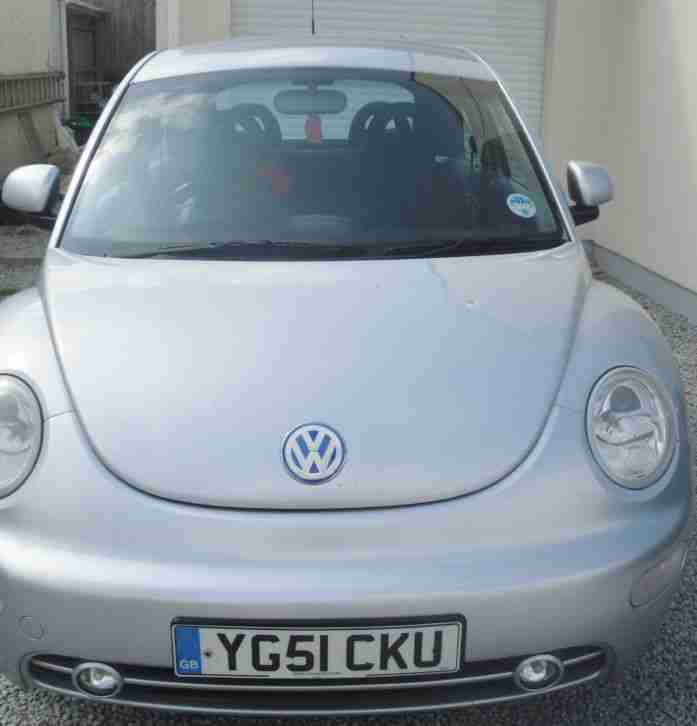 Volkswagen Beetle Turbo Price: Volkswagen 2001 BEETLE TURBO SILVER. Car For Sale