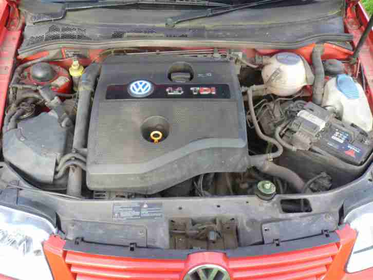 2001 VOLKSWAGEN POLO SE TDI RED - £30 Road Tax!
