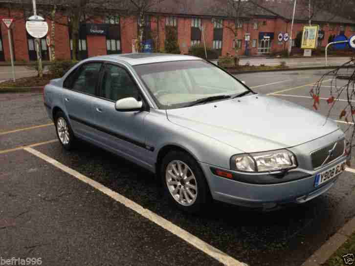 2001 VOLVO S80 170 BHP 2.4, FSH, last service 9/9/14, lots of receipts