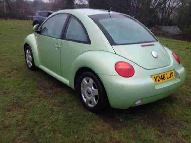 Y Reg Beetle For Sale 2001 VW BEETLE PEARLEC...