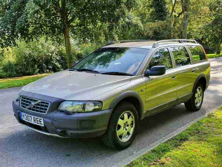Volvo V70. Volvo car from United Kingdom