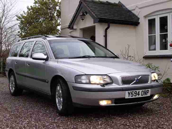 2001 V70 2.4 petrol cheap estate car