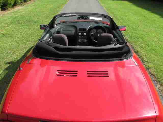 2001/X MG MGF 1.8 Sports M 2dr Cabriolet - X496 JVV - SPARES OR REPAIR!! NO MOT!