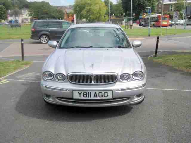 Jaguar 2001 Y X Type V6 Auto 2496cc Petrol Automatic