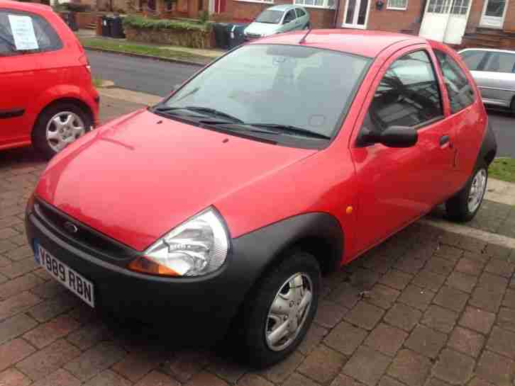 2001 Y REG KA RED MOT JUNE 2015 GOOD