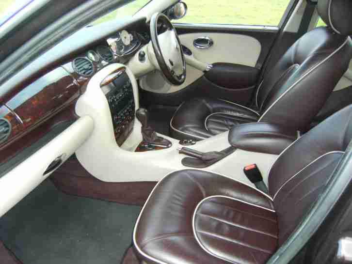 Rover 2001 Y REG 75 2.5V6 CONNOISSEUR AUTO METALLIC RED 94000 MLS