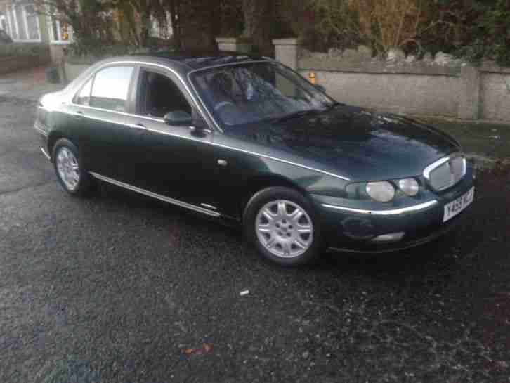 2001 Y ROVER 75 2.0 CDT CLASSIC SE 4 DOOR.BMW ENGINE.FULL MOT.PX BARGAIN TOCLEAR