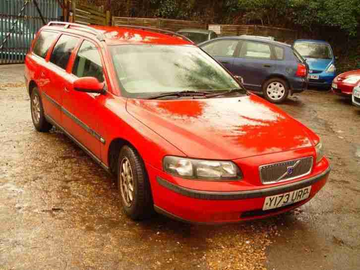 2001 YReg V70 2.4 140 5dr MANUAL PETROL
