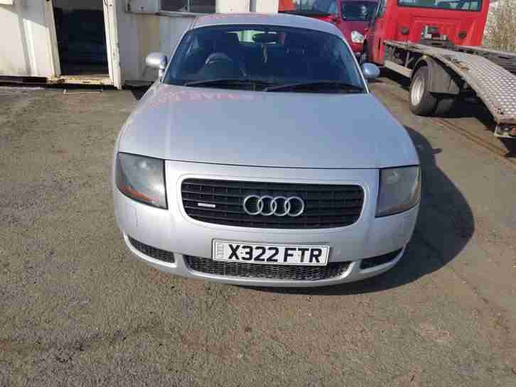 2001Audi TT 1.8T LEATHER HISTORY SILVER