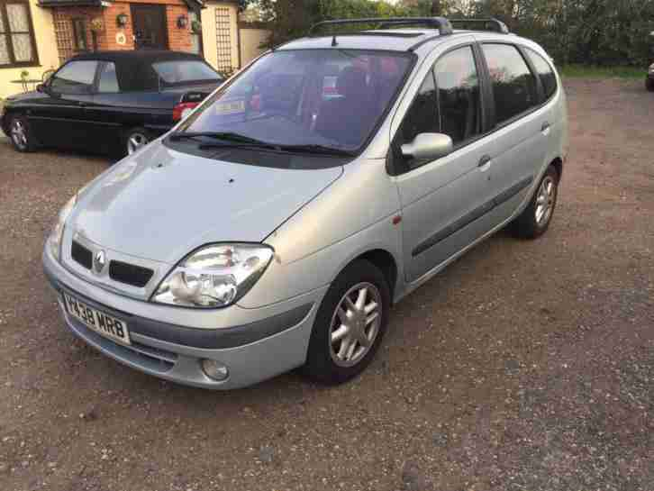 renault 2001 scenic 1 6 16v automatic rxe car for sale. Black Bedroom Furniture Sets. Home Design Ideas