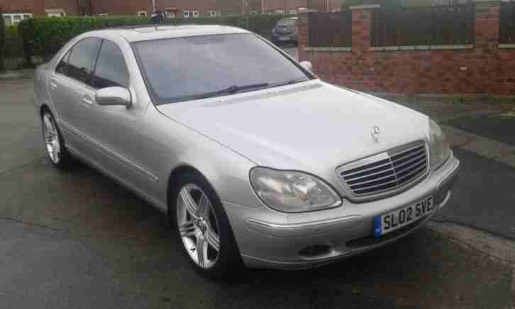 2002 02 mercedes s320 cdi auto silver looks well amg wheels car for sale. Black Bedroom Furniture Sets. Home Design Ideas