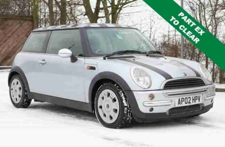 2002 02 MINI HATCH ONE 1.6 ONE 3D 89 BHP
