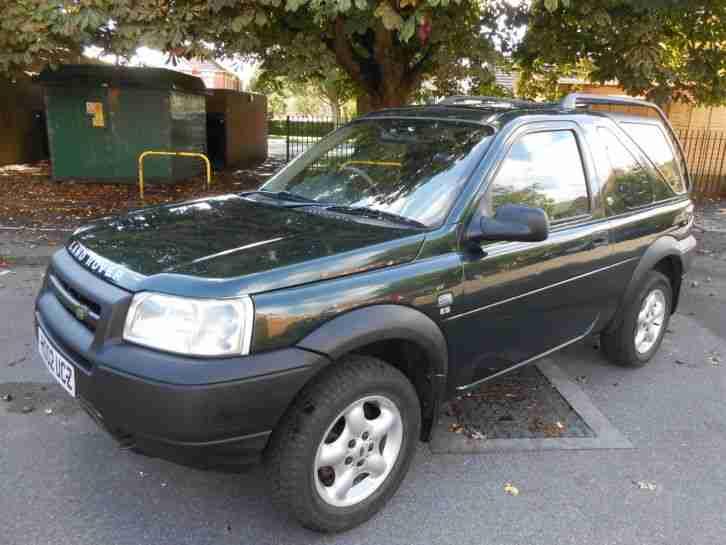land rover freelander 2002 petrol 4x4