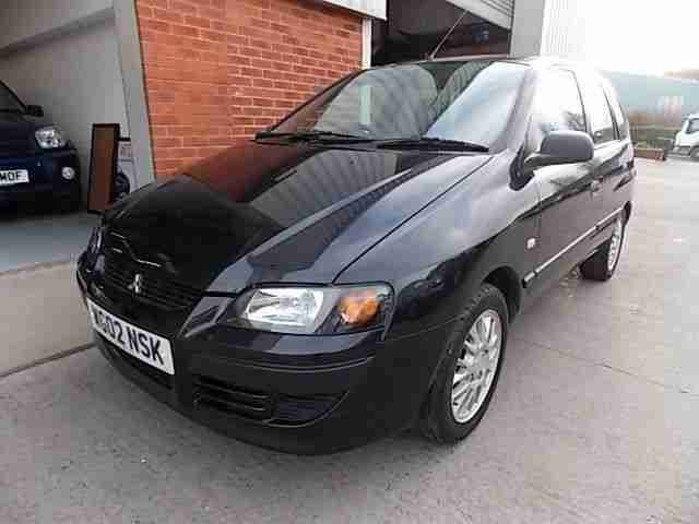 2002/02 REG MITSUBISHI SPACE STAR MIRAGE AUTOMATIC 1.6L PETROL 5 DOOR HATCHBACK