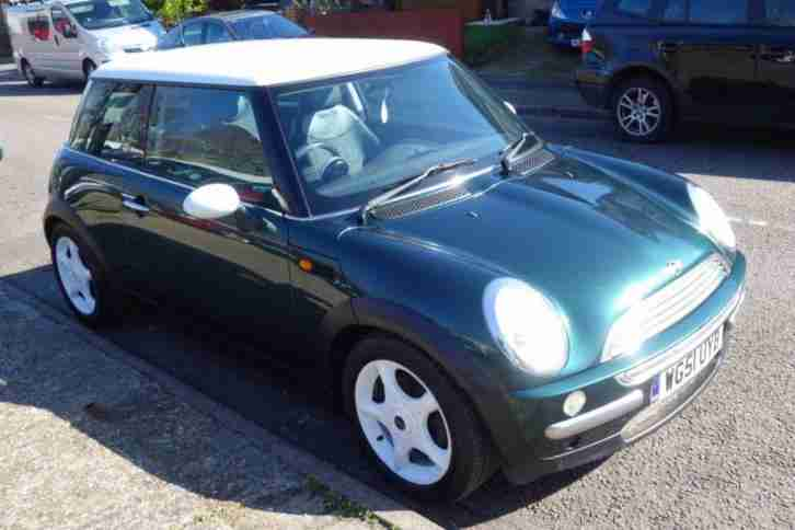 2002 51 MINI HATCH COOPER 1.6 COOPER 3D 114 BHP