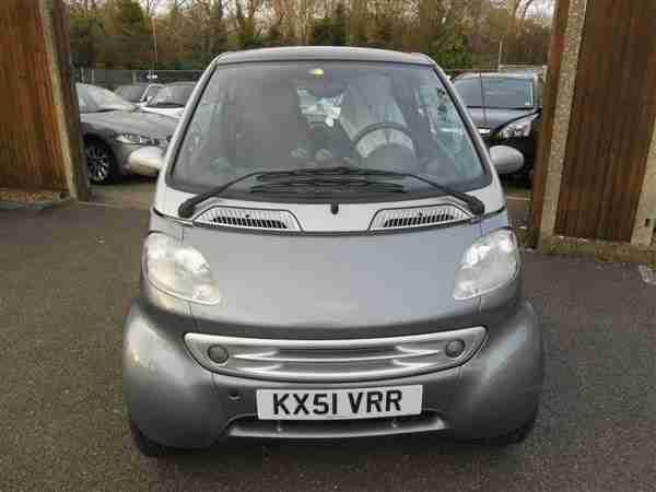 2002 (51) Smart 0.6i Passion Coupe Left-Hand Drive with Service History