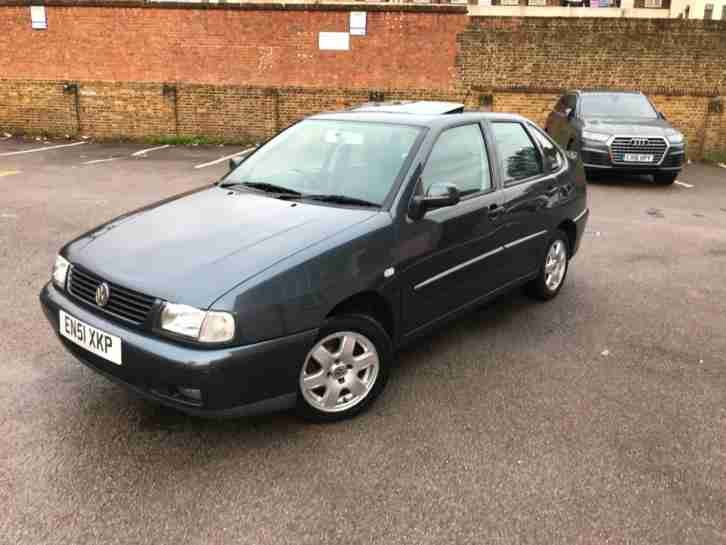 2002 51 Polo 1.6 SE SALOON ONLY