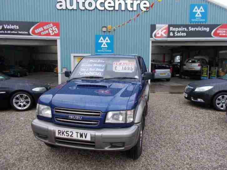 2002 52 TROOPER 3.0 SWB DT 1D 157 BHP