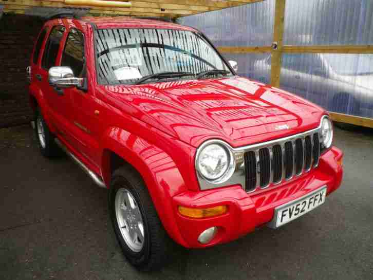 2002 (52) Jeep Cherokee 3.7 V6 Auto Limited ~ EXCELLENT EXAMPLE WITH LPG