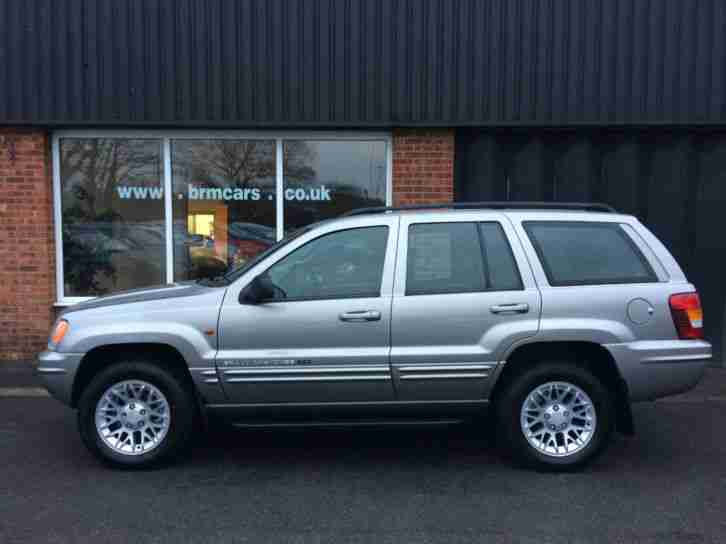 2002 52 Jeep Grand Cherokee 2.7 CRD LTD Auto 4X4 1 Owner Service History