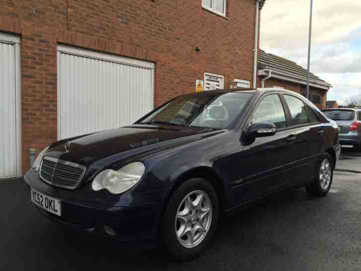 2002 52 Mercedes Benz C180 Saloon Auto 1.8