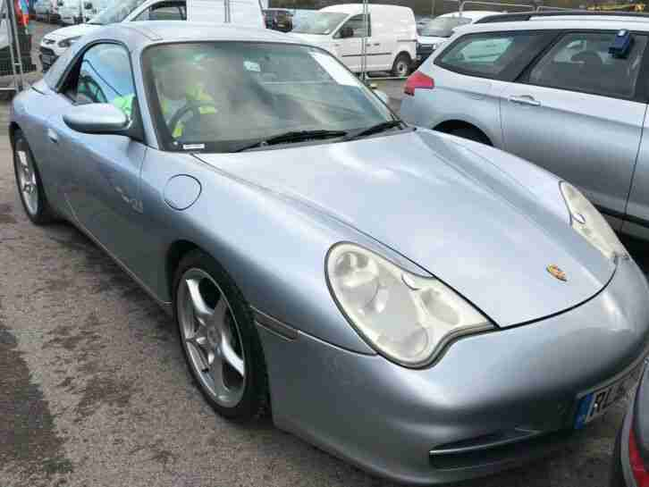 2002 52 PORSCHE 911 3.6 CARRERA 2 CONVERTIBLE, SATNAV, ALLOYS, FABULOUS