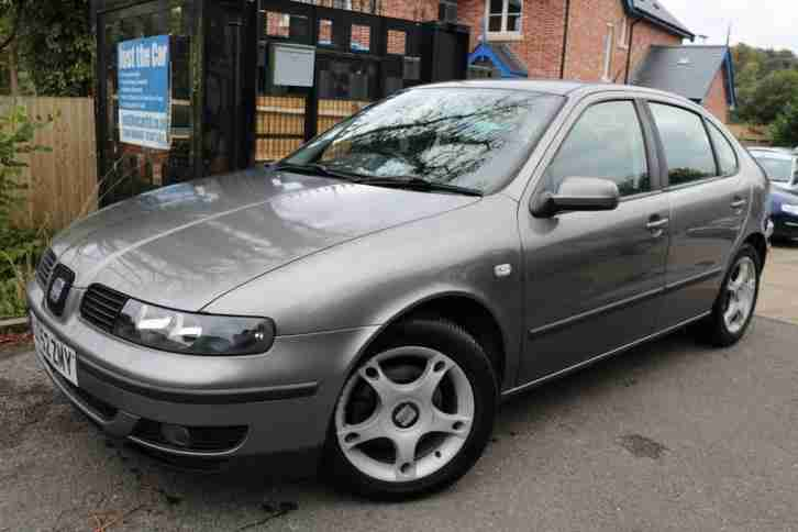 2002 (52 Plate) SEAT Leon 1.8 20V SE Silver 5 Door Long MOT Low Mileage Alloys