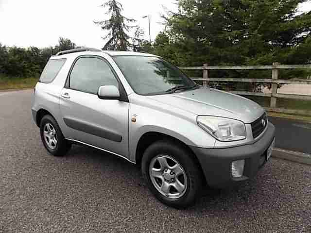 2002 / 52 REG TOYOTA RAV4 NV VVTI 1.8L MANUAL PETROL 3 DOOR 4x2 STUNNING EXAMPLE
