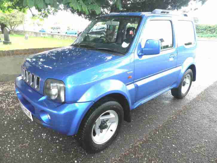 suzuki 2002 52 jimny 1 3 jlx hard top 95000 electric blue. Black Bedroom Furniture Sets. Home Design Ideas