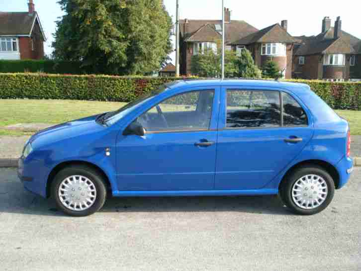 "2002 ""52"" Skoda Fabia 1.4 Classic Low Mileage 1 Owner 12 month MOT"