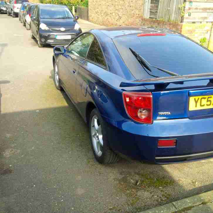 2002(52)TOYOTA CELICA 1.8 VVTi COUPE 6 SPEED MANUAL - LOW MILEAGE