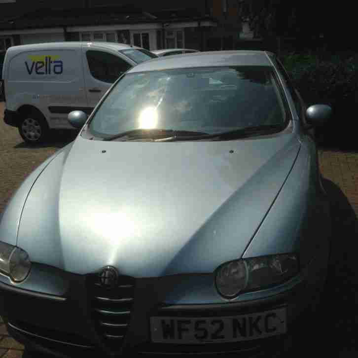 Alfa Romeo 2002 147 T SPARK LUSSO BLUE. Car For Sale