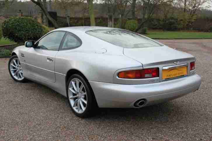 2002 ASTON MARTIN DB7 V12 VANTAGE 5.9 AUTO FULL HISTORY STUNNING THROUGHOUT COUP