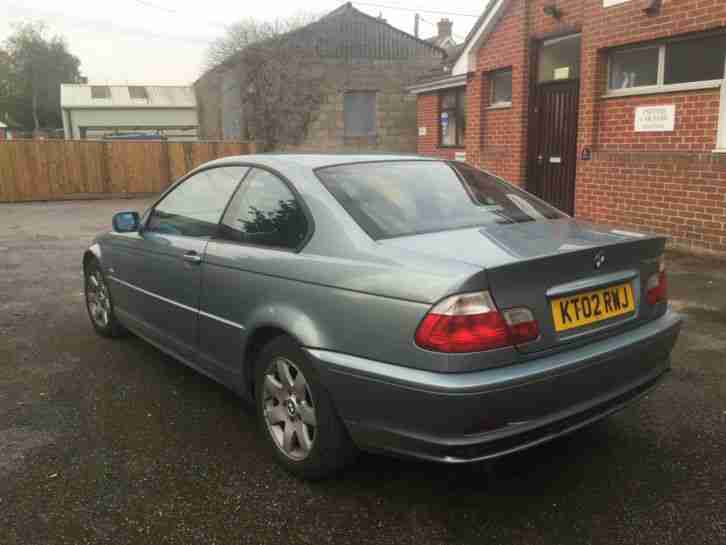 2002 BMW 318CI SE GREEN